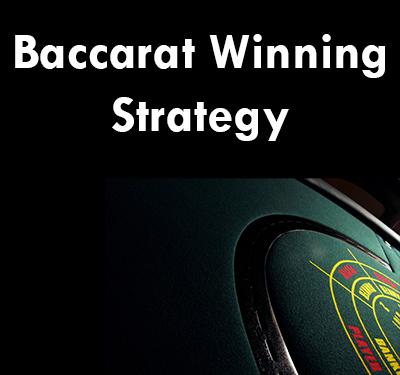 Baccarat betting strategy forum baseball poker wiki
